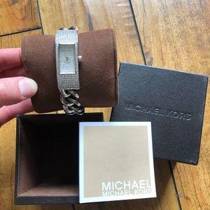 Michael Kors Hayden Crystal Watch